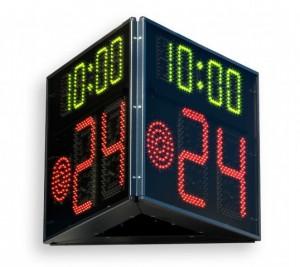 indicatore 24 secondi FIBA